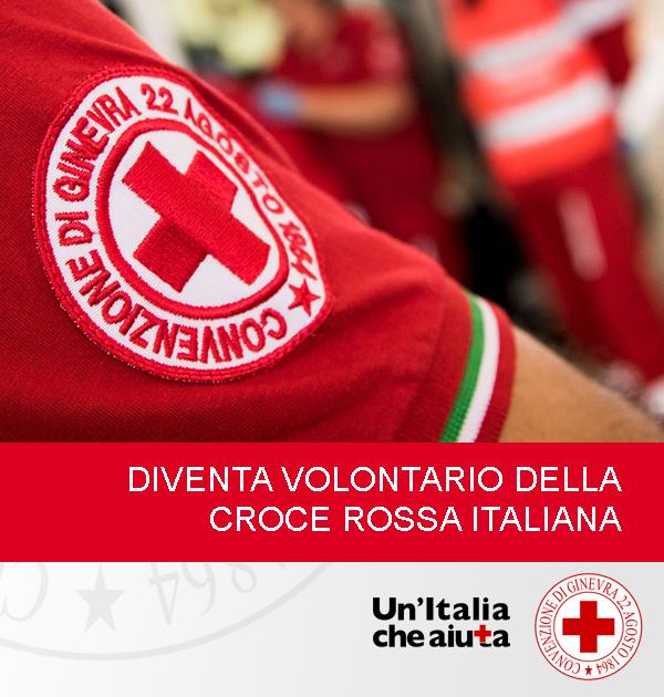 Diventa Volontario della Croce Rossa Italiana