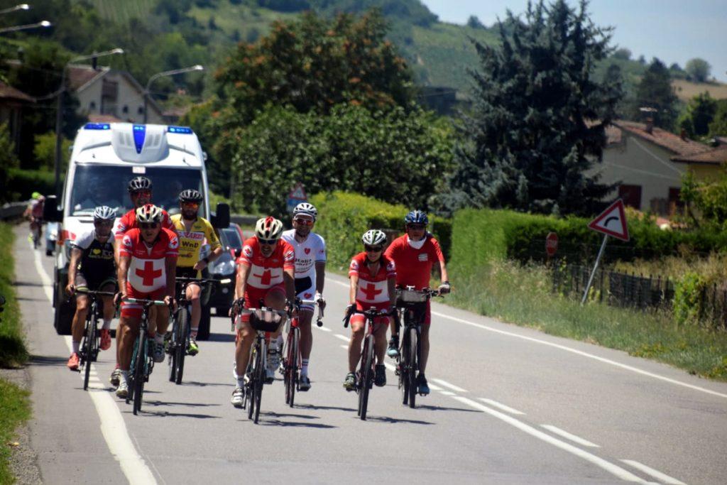 Volontari CRI, pedalata per Solferino