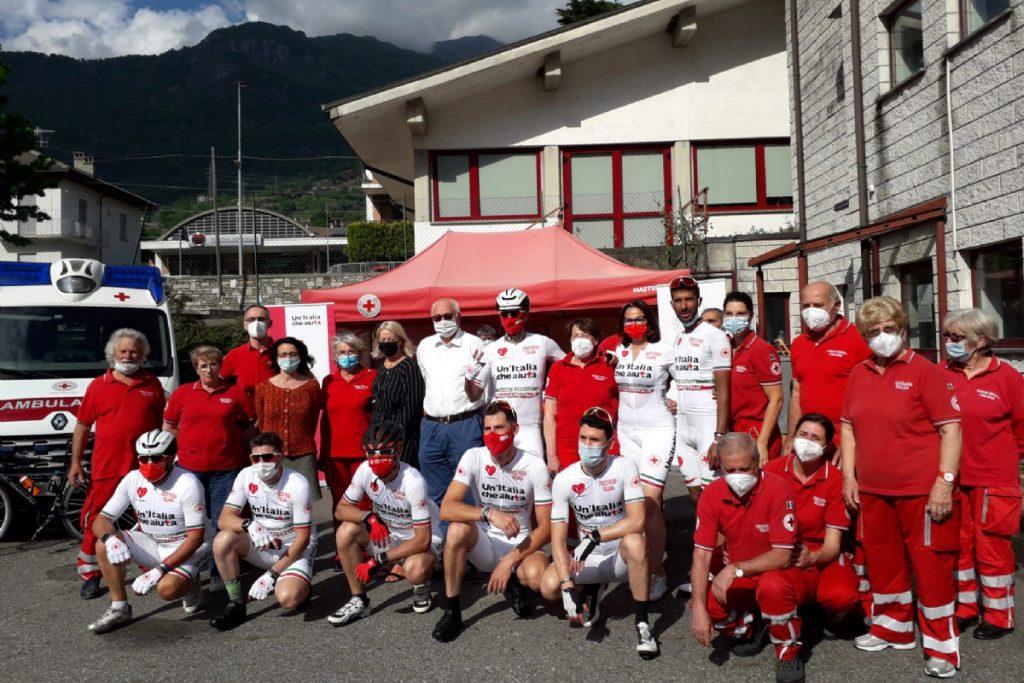 Volontari CRI Settimo Vittone, pedalata per Solferino