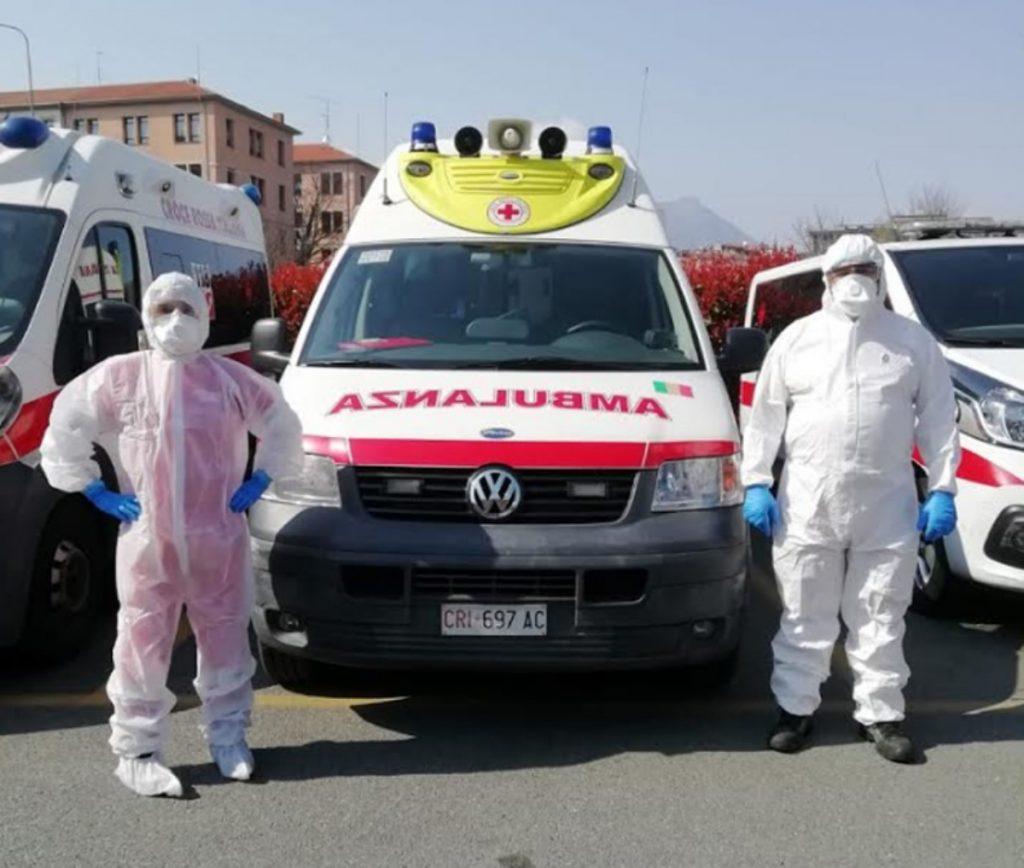 Equipaggio e Ambulanza covid